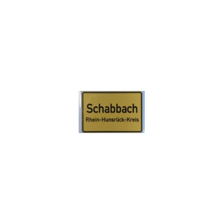 "Kühlschrankmagnet ""Schabbach"""
